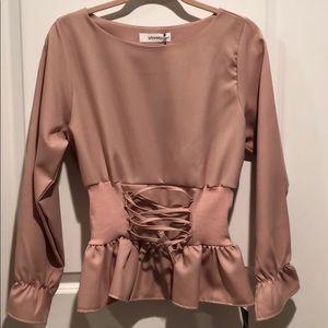 STORETS corset blouse